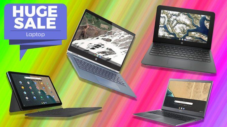 Oferta del décimo aniversario de Chromebook: los precios comienzan en solo € 199