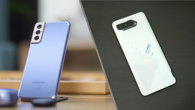 Galaxy S21 Plus vs ROG Phone 5: ¿Insignia tradicional o Insignia para juegos?