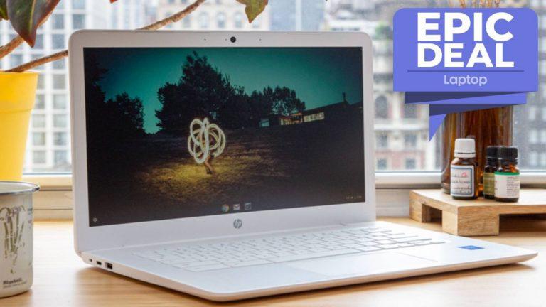 La computadora portátil HP Chromebook 14 con pantalla táctil y CPU AMD se reduce a € 230