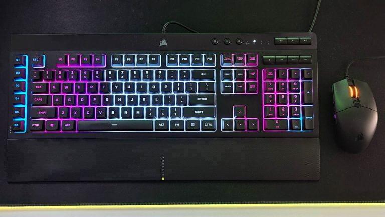 Revisión del teclado Corsair K55 RGB Pro XT
