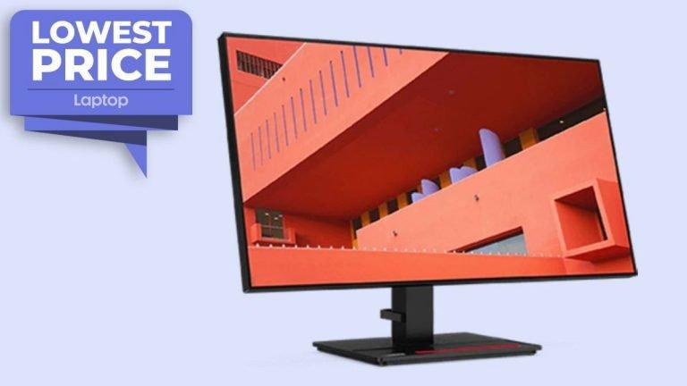 El monitor Lenovo ThinkVision 1440p alcanza el precio de venta más bajo de € 219