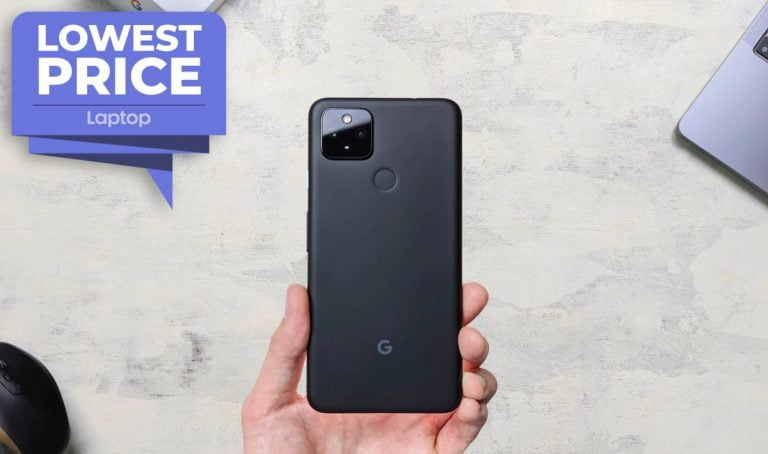 Google Pixel 4a 5G alcanza un mínimo histórico de € 449