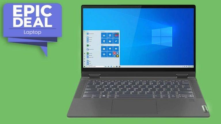 Lenovo IdeaPad Flex 5 cae a € 555 en una oferta épica de portátiles 2 en 1