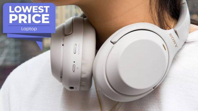 Los auriculares inalámbricos Sony WH-1000XM4 regresan al precio de venta más bajo