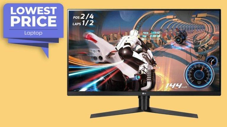 El precio del monitor de juegos LG UltraGear de 144Hz es de € 103, el precio más bajo de la historia