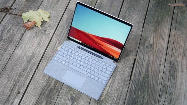 Microsoft Surface Pro X con SSD de 256GB ahora a € 300 de Amazon