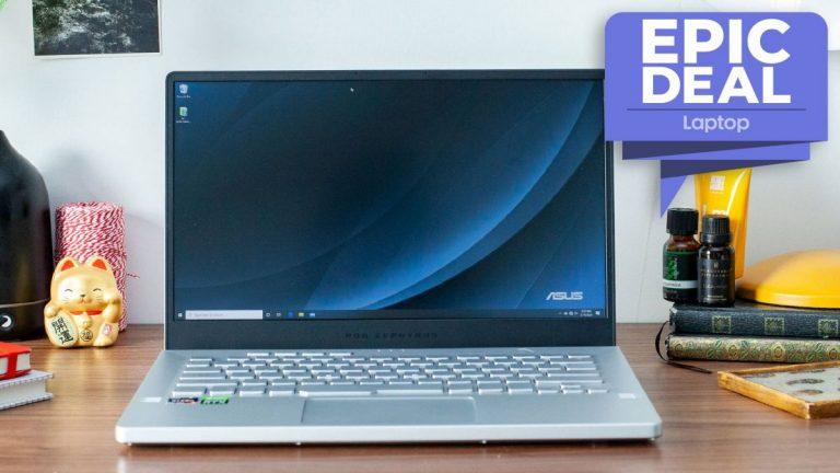Asus ROG Zephyrus G14 con CPU Ryzen de € 7 obtiene una oferta de computadora portátil para juegos poco común