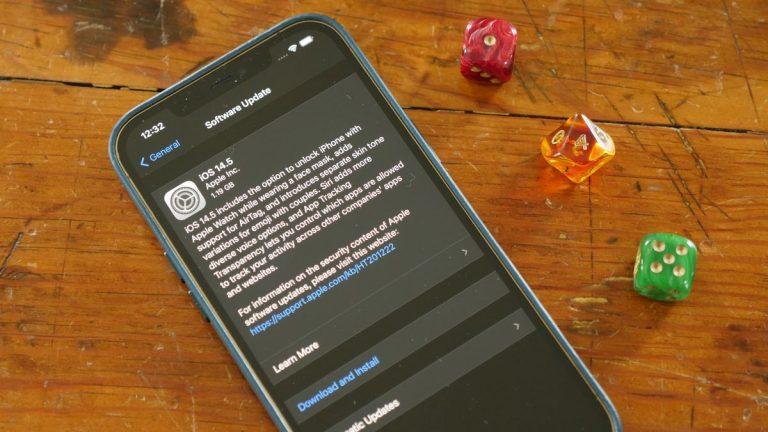 iOS 14.5 ya está disponible, por lo que puede descargarlo de inmediato