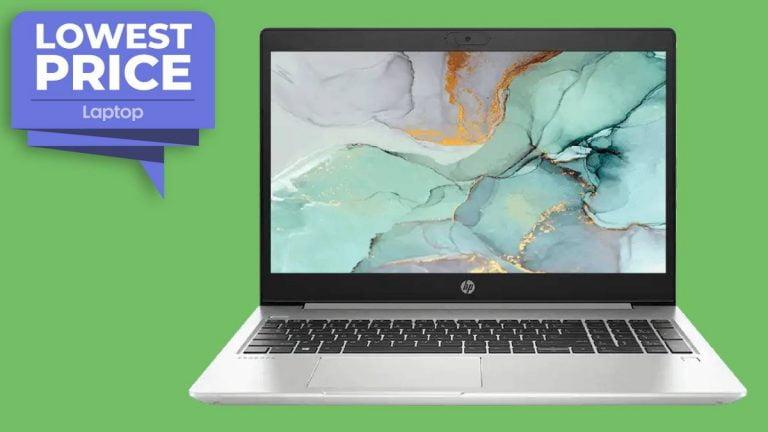 El portátil HP ProBook 450 G7 cae un poco menos de € 800, el precio más bajo de la historia