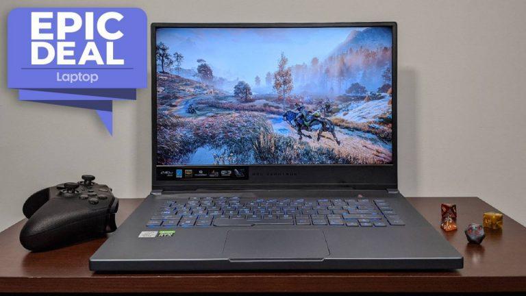 La computadora portátil para juegos Asus ROG Zephyrus M15 cae un poco menos de € 1,400