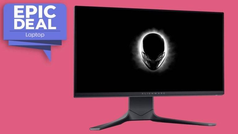 Un monitor de juegos Alienware de 240Hz está disponible en Dell por € 315