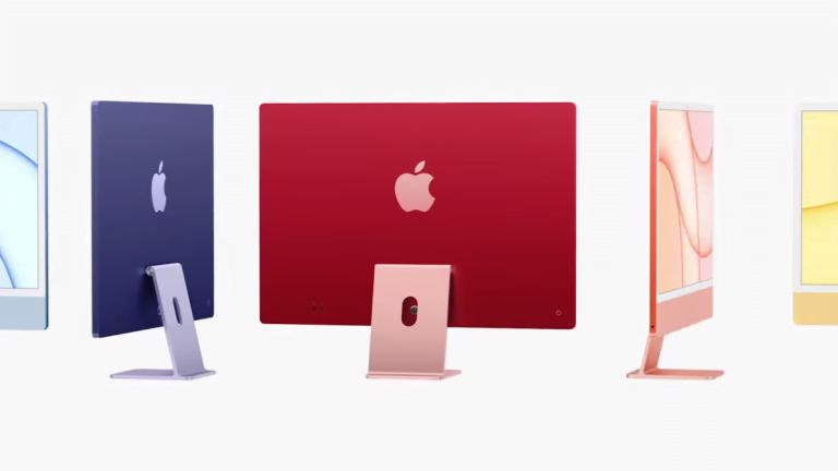 El iMac 2021 se presentó en el evento Spring Loading de Apple