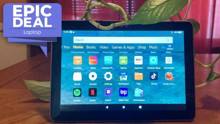 El paquete Amazon Fire HD 8 incluye una mini cámara Blink por € 75