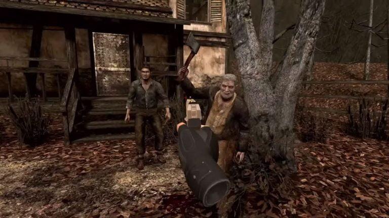 Resident Evil 4 llega a la realidad virtual, pero hay un problema