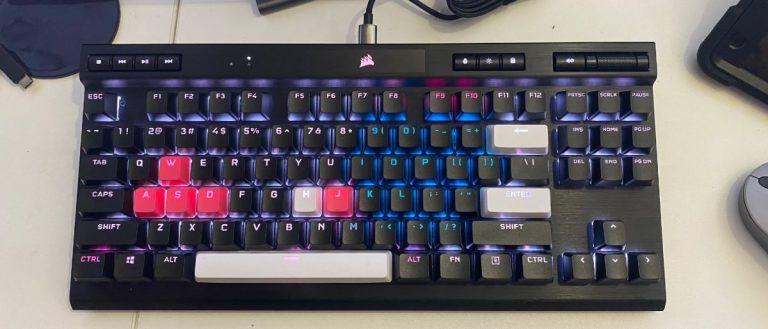 Prueba de teclado mecánico para juegos Corsair K70 RGB TKL