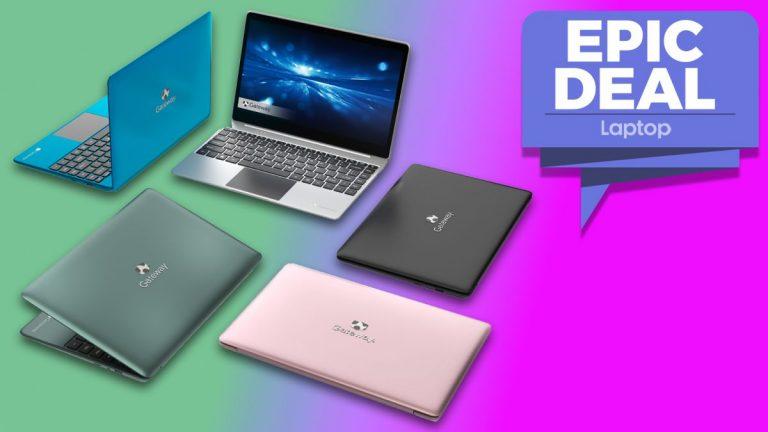Muchas computadoras portátiles: obtenga esta computadora portátil Gateway 14 con una CPU de 11a generación por menos de € 500