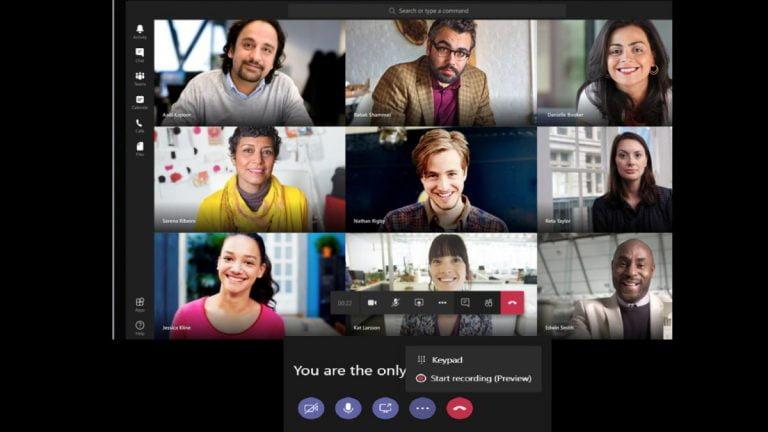 Los equipos de Microsoft registran automáticamente todas las reuniones, ¿preguntamos?