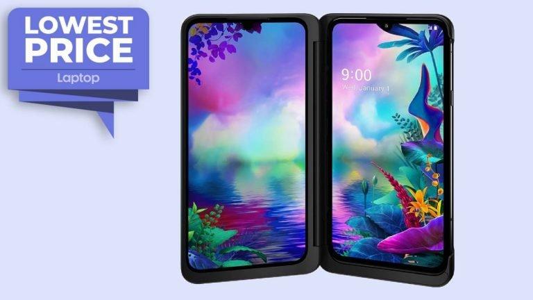 El teléfono de doble pantalla LG G8X ThinQ (desbloqueado) cae a € 400