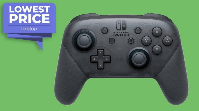 El controlador Nintendo Switch Pro regresa a un nivel bajo de € 59