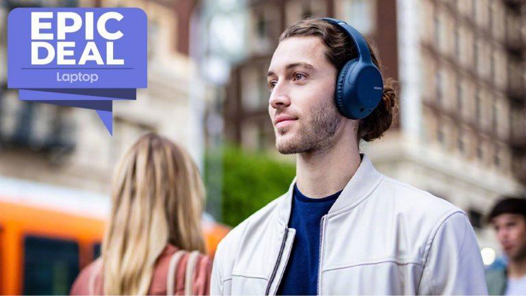 Estos auriculares inalámbricos con cancelación de ruido de Sony solo cuestan € 98