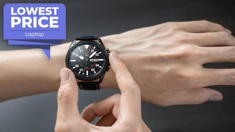 Samsung Galaxy Watch 3 alcanza el récord más bajo de € 230
