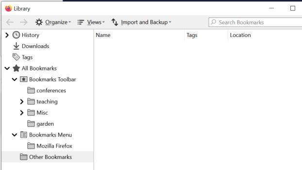 Cómo importar marcadores de Chrome a Firefox