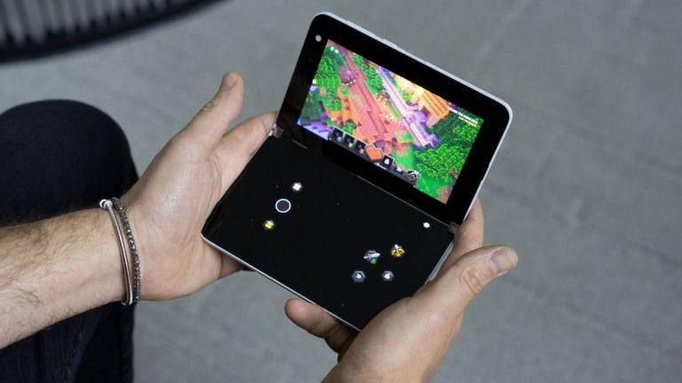 Microsoft Surface Duo se puede convertir en una Xbox portátil: así es como