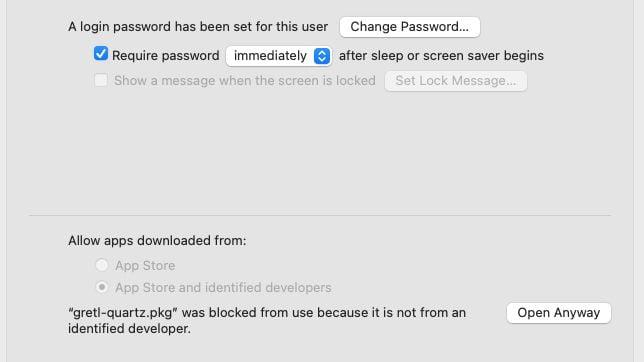 Cómo abrir aplicaciones desde fuera de la App Store en macOS