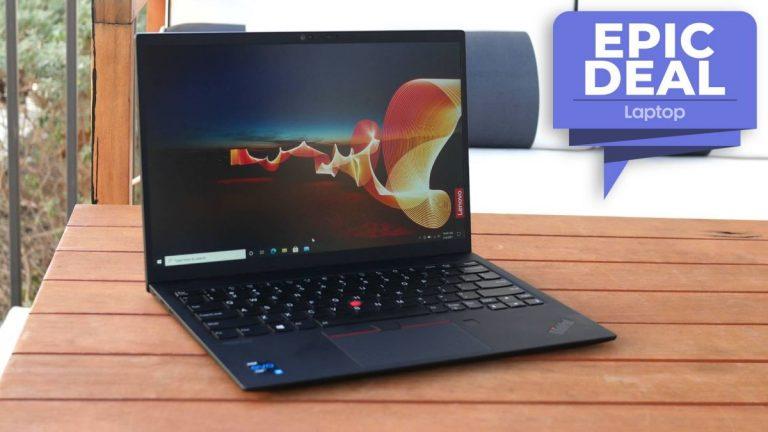 El Lenovo ThinkPad X1 Nano recibe un gran descuento por el Día de los Caídos