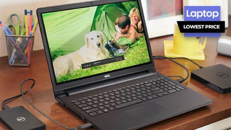 Dell Inspiron 15 3000 con CPU de 11 generación cae a € 449