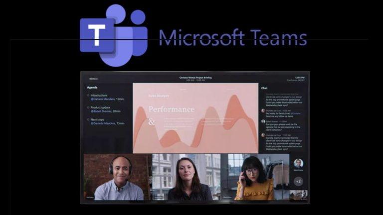 Microsoft Teams está agregando nuevas características para mejorar las reuniones de video chat