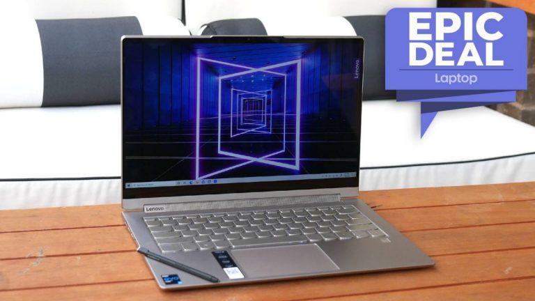 El galardonado Yoga 9i de Lenovo se reduce a € 900 en un paquete de portátil épico 2 en 1