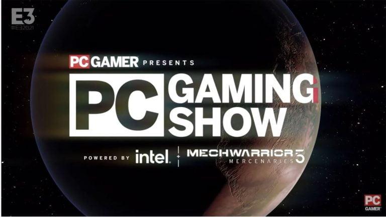 Blog en vivo para el PC Gaming Show 2021