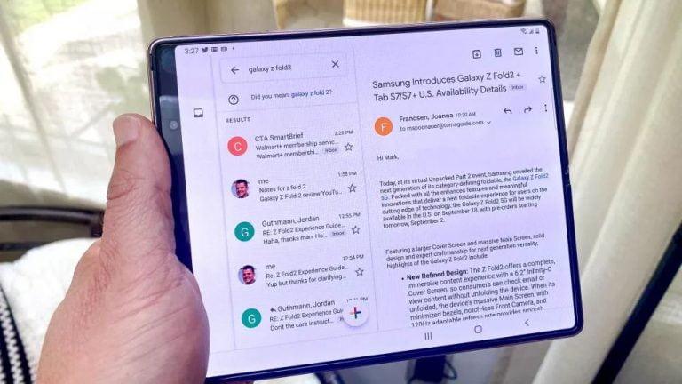 Samsung detiene las ventas de Galaxy Z Fold 2 en EE. UU .: lo que significa para Folder