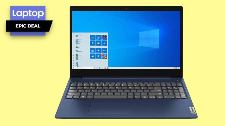 Con esta oferta de laptop para el regreso a clases, la Lenovo IdeaPad 3 se reduce a € 439
