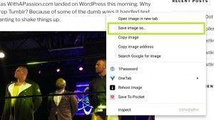 Cómo guardar imágenes en Chromebook